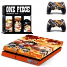 OnePiece skin decal for ps4 console and controllers