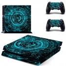 Technology wallpaper skin decal for ps4 console and controllers