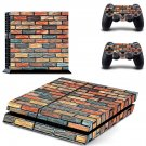 Nice wall skin decal for ps4 console and controllers