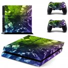 Geomatric pattern skin decal for ps4 console and controllers