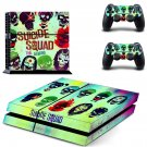 Suicide squad skin decal for ps4 console and controllers