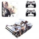 Kindom hearts ps4 pro skin decal for console and controllers