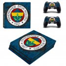 Fenerbahce sport club ps4 pro skin decal for console and controllers