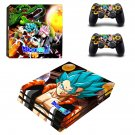 Dragon ball super ps4 pro skin decal for console and controllers