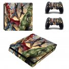 Avengers age of ultron ps4 slim skin decal for console and controllers