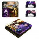 Naruto: Ultimate Ninja Storm ps4 slim skin decal for console and controllers