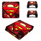 Superman ps4 slim skin decal for console and controllers