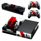 Fast & Furious skin decal for Xbox one console and controllers