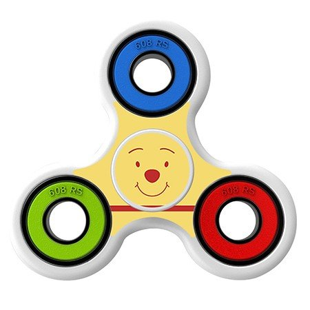 Winnie the Pooh Skin Decal for Hand Fidget Spinner sticker toy