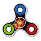 Flame 3d Skin Decal for Hand Fidget Spinner sticker toy