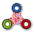 Colorful lips Skin Decal for Hand Fidget Spinner sticker toy