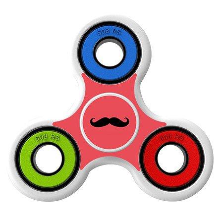 Mustache Skin Decal for Hand Fidget Spinner sticker toy