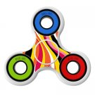 Colorful Pattern  skin Skin Decal for Hand Fidget Spinner sticker toy
