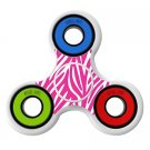 Zebra pattern skin Skin Decal for Hand Fidget Spinner sticker toy