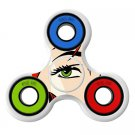 Clipart eye Skin Decal for Hand Fidget Spinner sticker toy