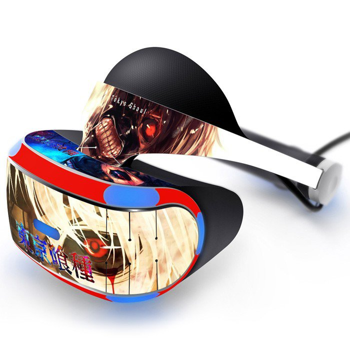 Tokyo Ghoul Skin Decal for Playstation VR PS4 Headset cover sticker