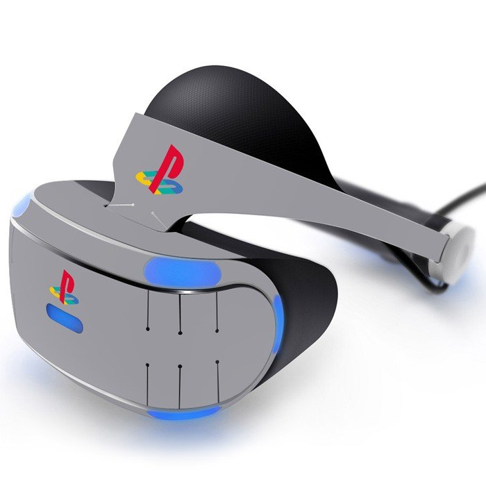 Playstation icon Skin Decal for Playstation VR PS4 Headset cover sticker