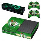 Boston Celtics skin decal for Xbox one console and controllers