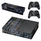 Blurry baord skin decal for Xbox one console and controllers