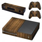 Wooden Board skin decal for Xbox one console and controllers