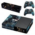 Pirates of the caribbean skin decal for Xbox one console and controllers