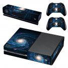 Galaxy scene skin decal for Xbox one console and controllers
