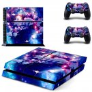 Cloudy sky skin decal for PS4 PlayStation 4 console and 2 controllers
