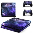 Sky scene skin decal for PS4 PlayStation 4 console and 2 controllers
