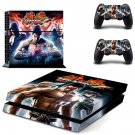 Teken 8 skin decal for PS4 PlayStation 4 console and 2 controllers