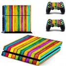 Zoom sky skin decal for PS4 PlayStation 4 console and 2 controllers