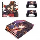 Cartoon anime skin decal for console and controllers