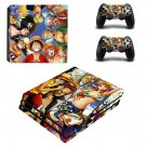 One piece skin decal for console and controllers