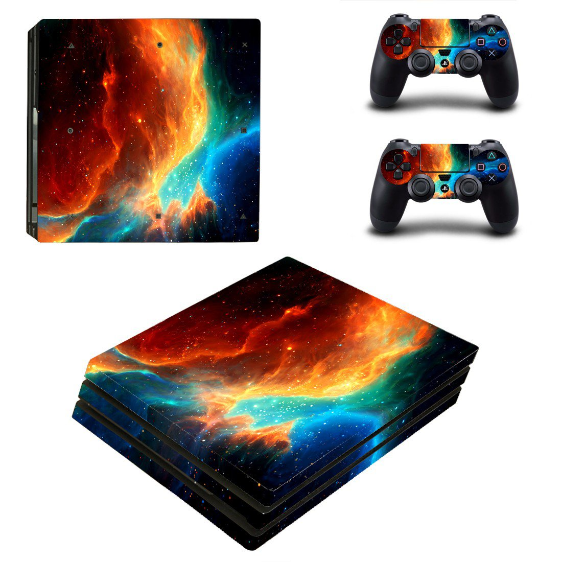Ghost sky skin decal for console and controllers