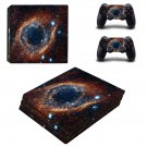 Galaxy scene skin decal for console and controllers