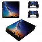 Sky scene skin decal for console and controllers