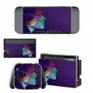 Colorful face decal for Nintendo switch console sticker skin