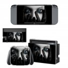 Black handed girl decal for Nintendo switch console sticker skin