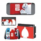 Big hero 6 decal for Nintendo switch console sticker skin