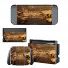 Tree trunk decal for Nintendo switch console sticker skin