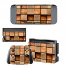 Square block decal for Nintendo switch console sticker skin