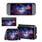 Space scene decal for Nintendo switch console sticker skin