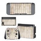 Wooden board decal for Nintendo switch console sticker skin