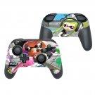 Splatoon 2 decal for Nintendo switch controller pro sticker skin