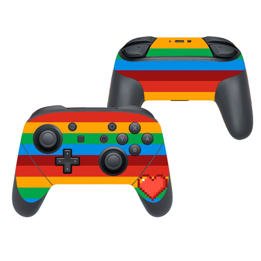 Heart sign decal for Nintendo switch controller pro sticker skin