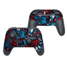 Broken toys decal for Nintendo switch controller pro sticker skin
