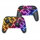 Square blocks decal for Nintendo switch controller pro sticker skin