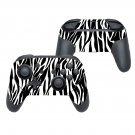 White tiger skin decal for Nintendo switch controller pro sticker skin