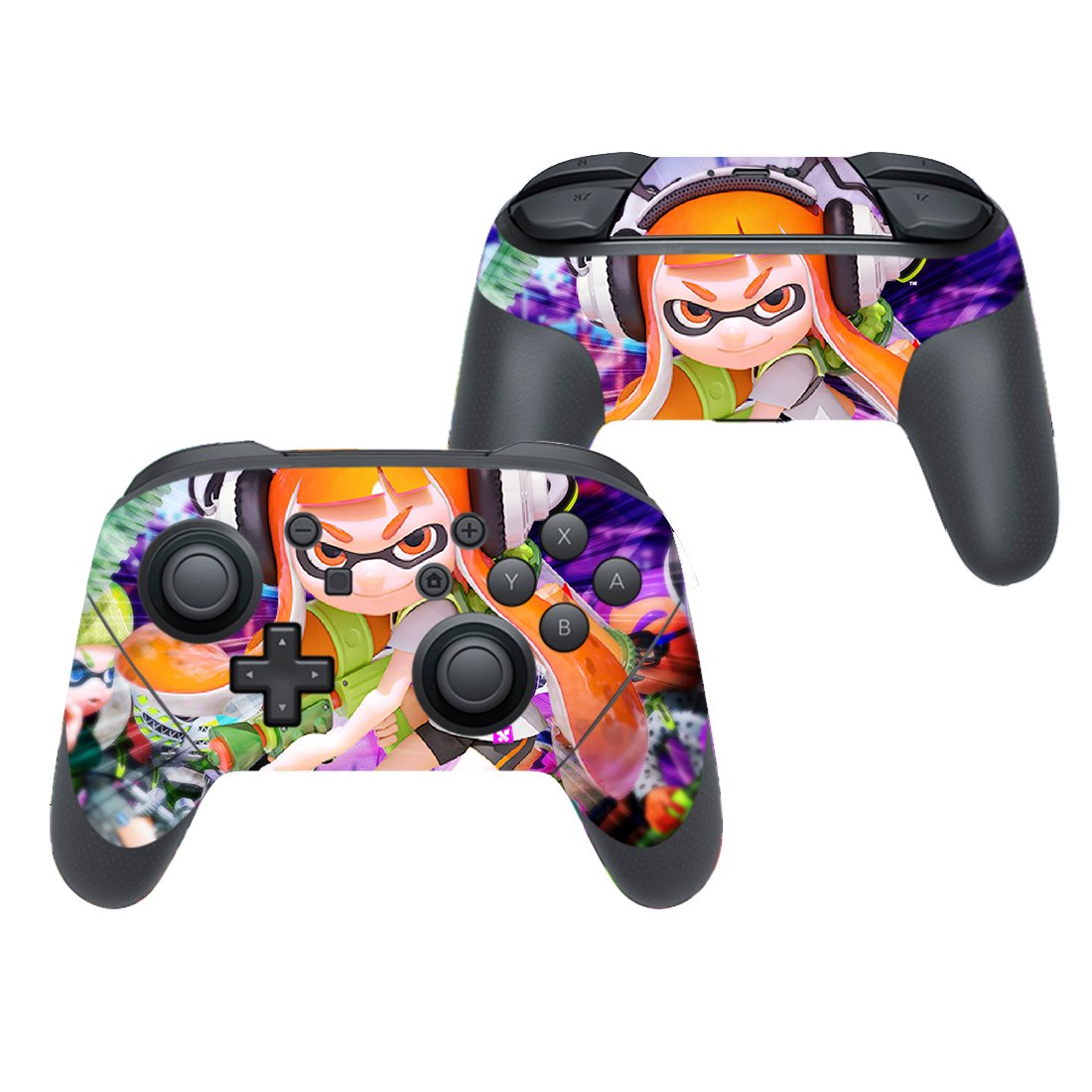 Splatoon decal for Nintendo switch controller pro sticker skin