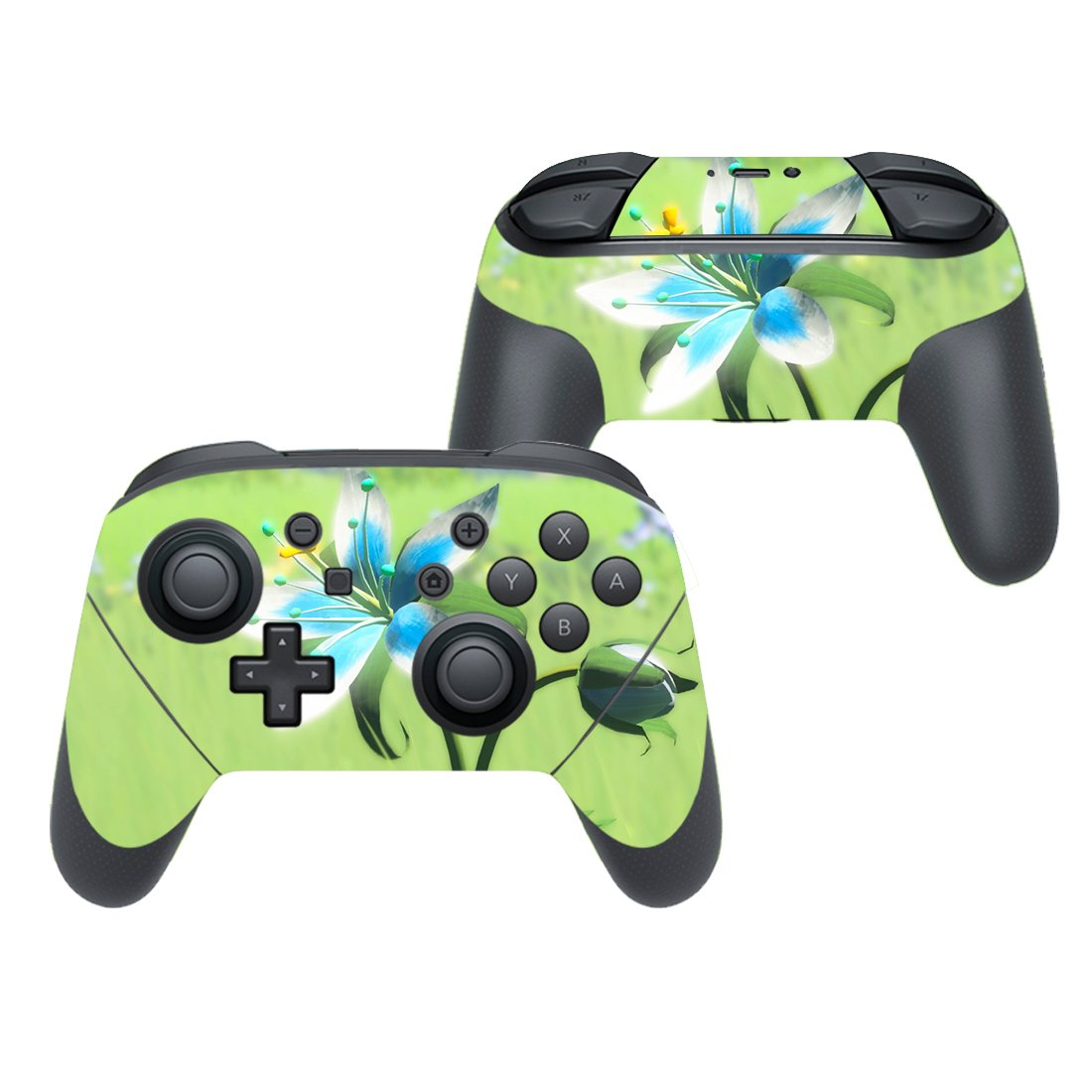Fresh flowers decal for Nintendo switch controller pro sticker skin