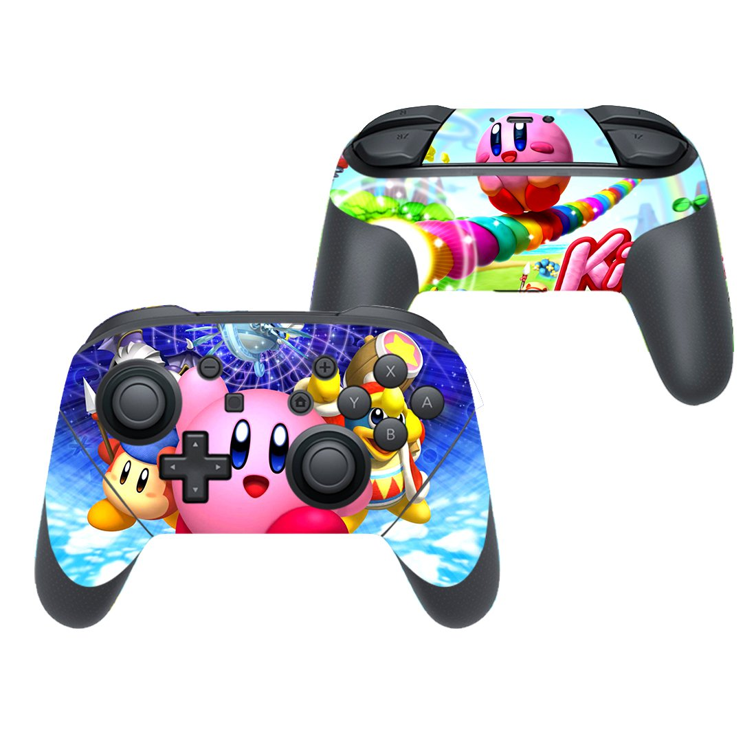 Kirby decal for Nintendo switch controller pro sticker skin